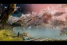 God of War Landscapes