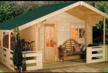 tiny garden houses