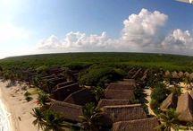 VUELO DE PHANTOM SOBRE PAAMUL-Riviera Maya.
