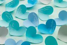 Aquamarine Wedding Seating Plans