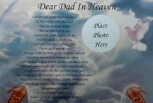 Dear Dad In Heaven