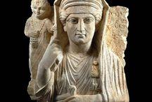 Palmyra art artifacts Syrian heritage / Palmyra art - Palmyra token - Palmyra relief - Syrian heritage