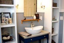 Házak-Fürdőszobák