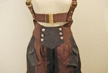 steampunk women pants