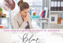 [ wordpress + blogging tips ] / Wordpress Tutorials, blogging tips and custom blog design tutorials by blog designer Little Blue Deer