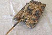 Modellismo - T-72 / T-72B/S (Revell 03077) - 1/35 scale model - http://vonvikken-modellismo.blogspot.it/search/label/T-72