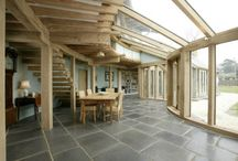 Conservatories / We specialise in the design of conservatories, sun-rooms and garden rooms that can be used all year round and are an integral part of the house.  www.roderickjamesarchitects.com