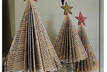 Book Themed Christmas Decorations