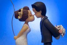 Casamento - Topo de Bolo