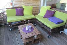 DIY Pallet Balcony Ideas / DIY Pallet Balcony Ideas