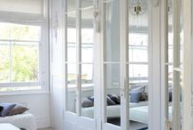 Mirrored Wardrobes / Adding depth to your home, length, mirrored wardrobe doors
