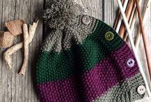 Hat knitting / Knitting, handmade