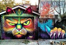 cool street art/graffiti