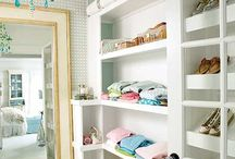 closet inspiration / by Melaine Bennett Thompson
