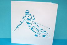 skiing cards
