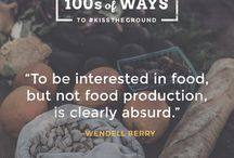 Permaculture / Going beyond organic gardening and farming. Permaculture integrates the garden and home to create a lifestyle that impacts less on the environment.