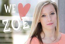 We Love Zoe Enderle Wagner / by Kim Wade