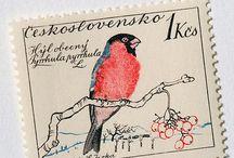 Postzegels - Vogels / by Lyda Nijhuis van Berkel