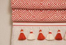 Good idea - curtains & tassels