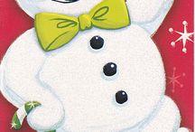 Karácsonyi és téli képecskék