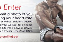 Capture the Beat Photo Contest / Submit a photo of you taking your heart rate (with or without a fitness tracker) for a chance to win the all-new activity and sleep tracker, Zone R420.