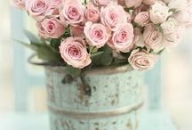 All things Chabby & Floral.. / Chabby Chic Floral arrangements ..Purdy..