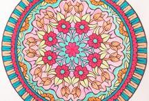 Mandalas / Momentos conmigo ~ pintando ~ relax