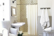 Powder Room / Bathroom idea board / by Lisa Abbey