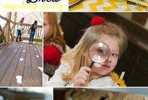 Hannah's 9th detective birthday party