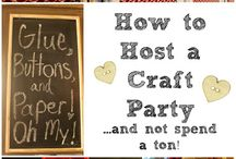 Craft Party / Ideas for Craft Parties with the Ladies