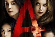 Pretty Little Liars / This show revolves around 4 girls throughout the season and a person who call themselves A.Impersonating there dead friend Alison.Sending them creepy text messages and showing them freaky things while remaining anonymous.