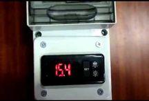 Como funciona un sensor de temperatura / Sensor de temperatura para comtrolar un equipo de calefacción
