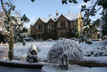 Winter Views at East Lodge / Thought we would add a few snowy and wintery pictures of East Lodge, The Peak District and our gardens.