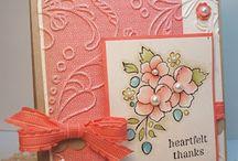 cards - cuttlebug and cricut