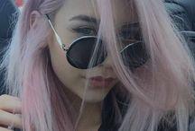 Pinky hair