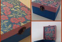 Pinturas / As minhas caixinhas