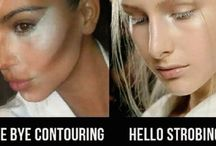 Strobing & Contouring / The make-up trends that are here to stay. Strobing and contouring looks, tips and products we like.