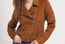 Women's Fashion - Suede Jackets