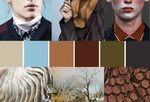 Dutch Masters / Inspired by the famous masterpieces of time gone by experts predict the hottest trend for Autumn/Winter 2017 will be 'Dutch Masters.'  To recreate this perfectly nostalgic trend include earthy tones like dark browns, deep reds, greys, golds and creams with lush blooms and black-as-night backgrounds.