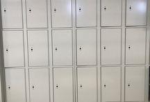 University of TX Dallas/Richard, TX #DeBourgh #Lockers / #Rebel #ClosedBase #SolidVentilation #PianoHinge #SentryThreeLatch #Smoke #Masterlock3685 #DeBourgh #Lockers