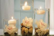 Table centrepieces / Centrepieces for beautiful tables