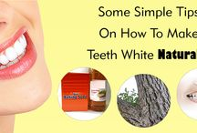 Tips On How To Make Teeth White Naturally / If you are bothered by your yellowish or dark color teeth and want to make your teeth white then visit this post because in this post we share some useful tips on how to make your teeth white in natural way.... So visit this post and know about this...