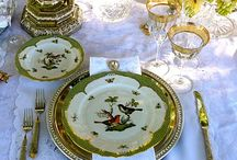 Rothschild bird china plates