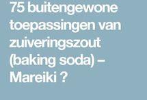 baking soda toepassingen