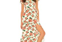 Summer of Love / Hold onto summer with new floral prints in flowing maxi-dresses, tunics and vintage inspired pieces. Add a breath of fresh air to your late summer wardrobe with this ready to wear 70's trend. / by Motel Rocks