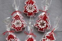Расписные пряники, печеньки - новогодние