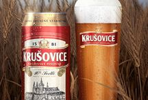 Krusovice beer / krusovice