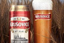 Krusovice beer / krusovice