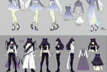 RWBY / Fun art of anime RWBY