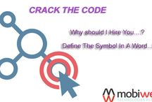 Crack The Code At MobiWeb Technologies / Here is the best opportunity for you to get enter in one of the best company in Indore, India #Crack the #Code Grab the opportunity to appear in direct #interview MobiWeb Technologies Private Limited